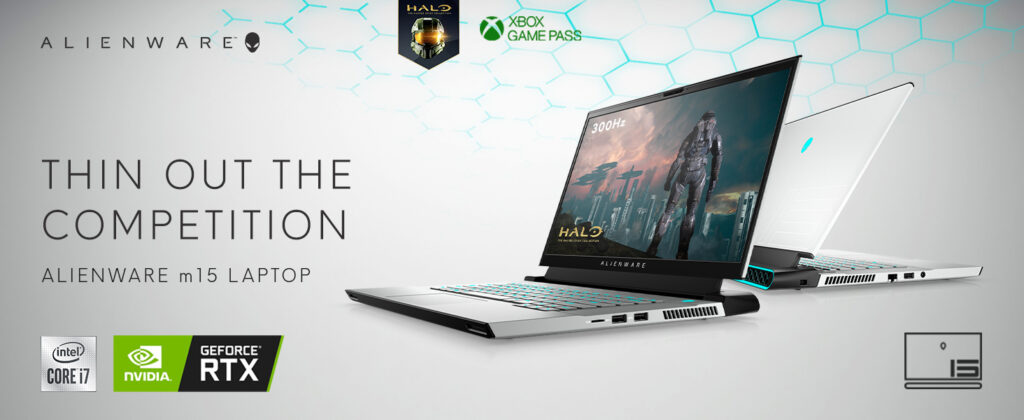 Alienware M15 R4 AWM15R4 7702WHT PUS Laptop