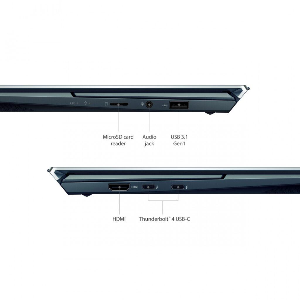Asus UX482EG XS77T ZenBook Duo 14 Ports