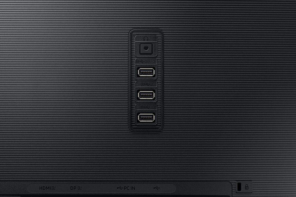 Samsung S32A804NMN Monitor Ports