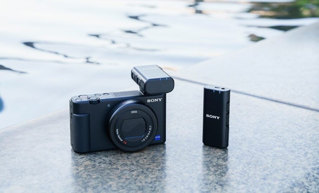 Sony ECMW2BT wireless mic