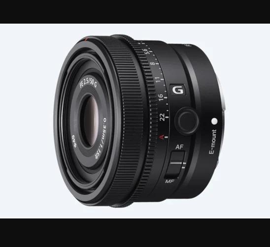 Sony FE 50mm F2.5 G SEL50F25G