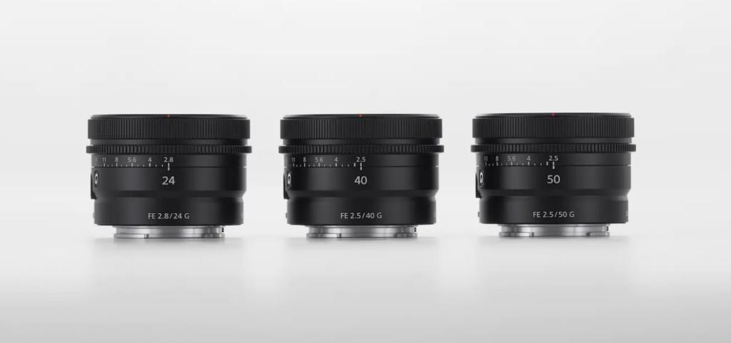 Sony Full Frame G Lenses March 2021
