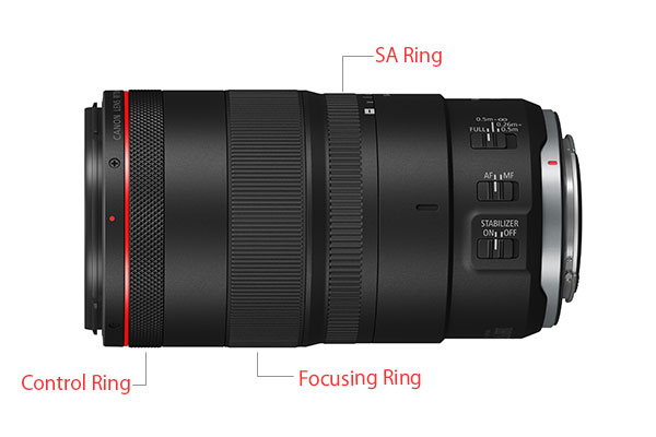 Canon RF100mm F2.8 L MACRO IS USM Lens