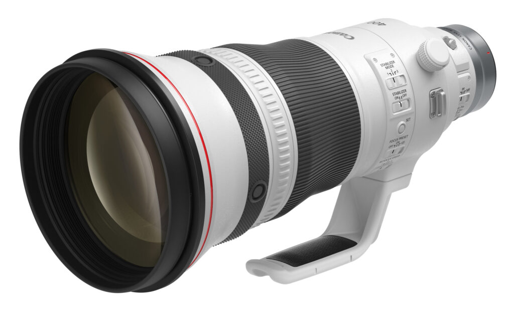 Canon RF400mm f 2.8L IS USM lens