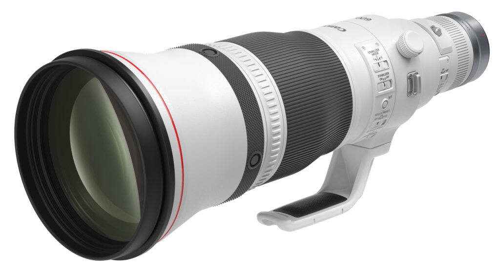 Canon RF600mm f4L IS USM lens