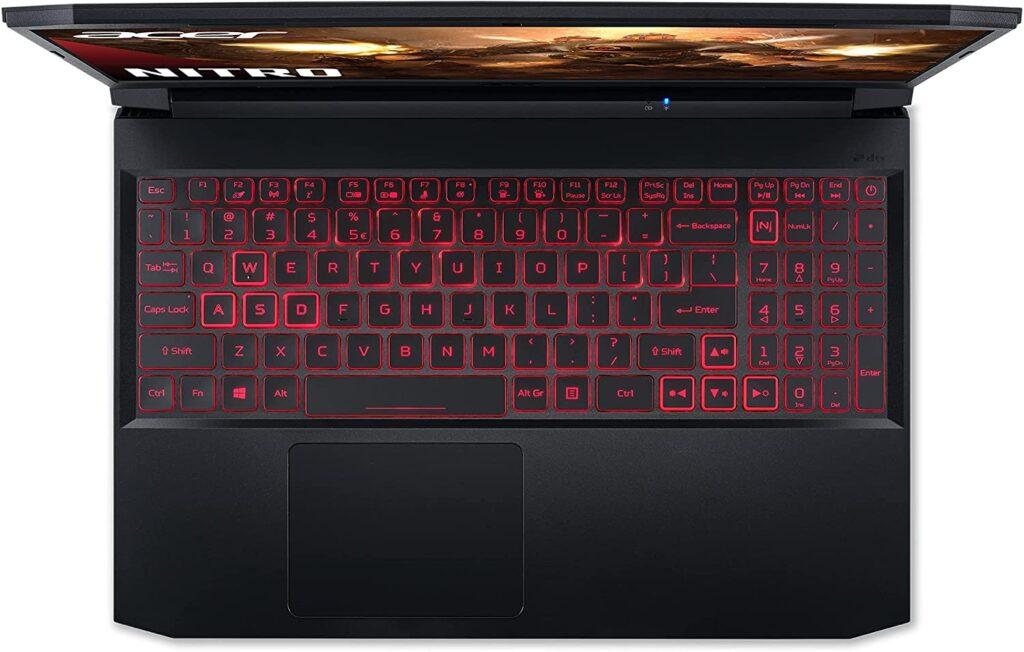 Acer Nitro 5 AMD AN515 45 R7S0 keyboard