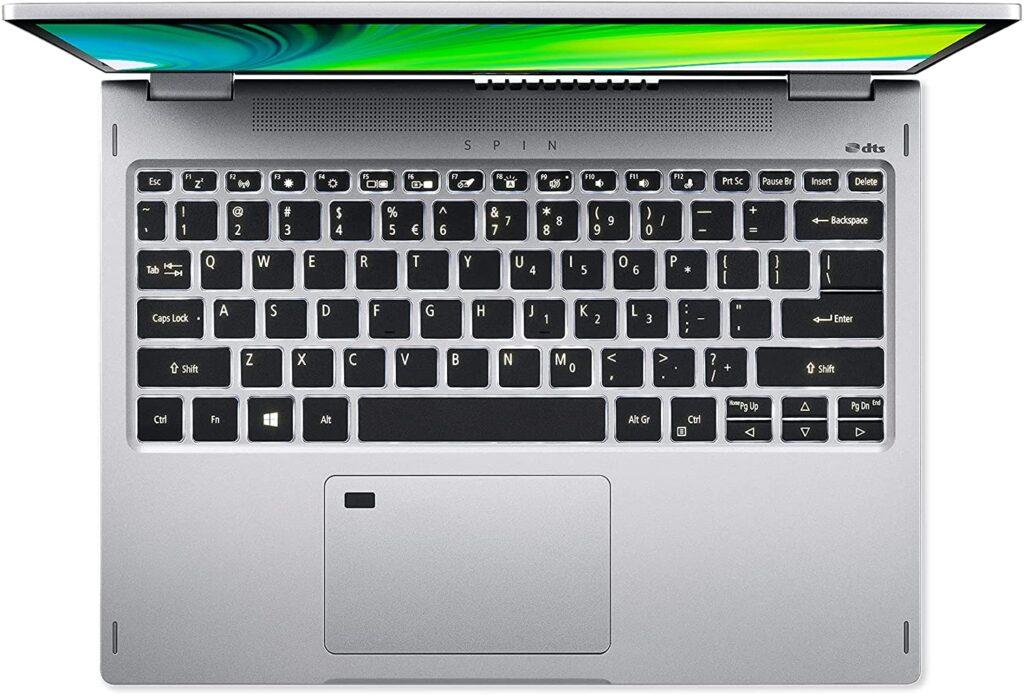 Acer Spin 3 SP313 51N 50R3 keyboard