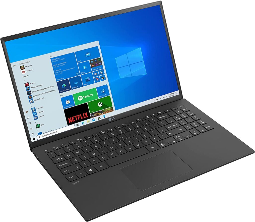 LG Gram 15Z90P 2021 Laptops Amazon US