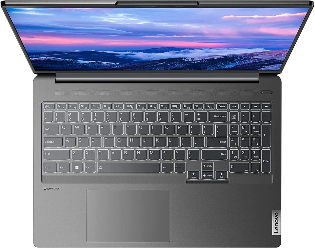 Lenovo IdeaPad 5i Pro 82L9000KUS keyboard
