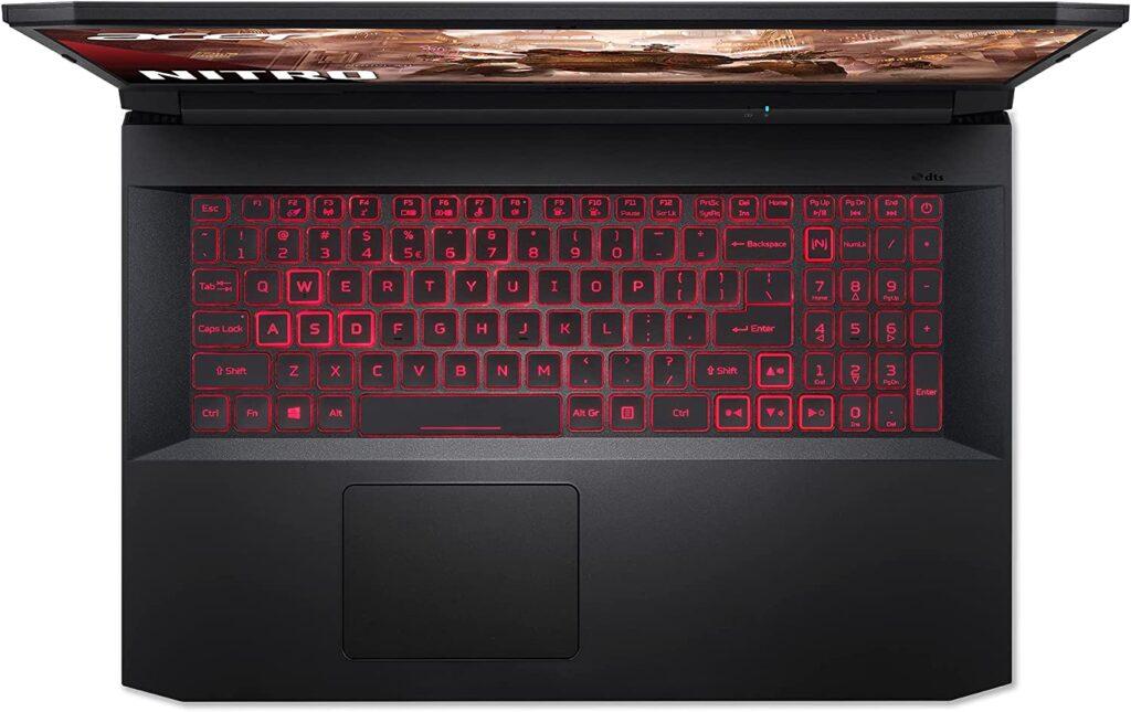 Acer Nitro 5 AN517 41 R7EY keyboard