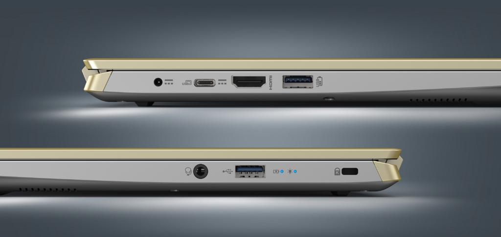 Acer Swift X SFX14 41G R1S6 USB Ports