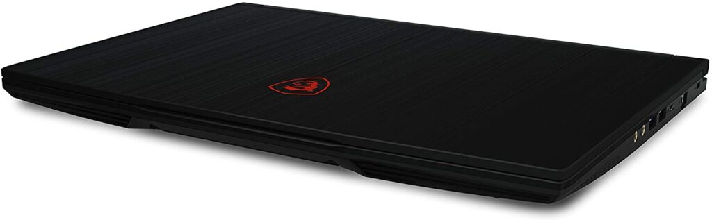 MSI GF63 Thin 10UC 440 Laptop closed