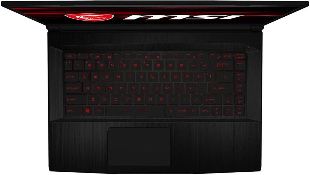 MSI GF63 Thin 10UC 440 Laptop keyboard