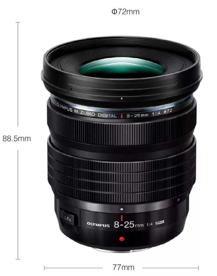 Olympus M ZUIKO 8 25MM lens pre order