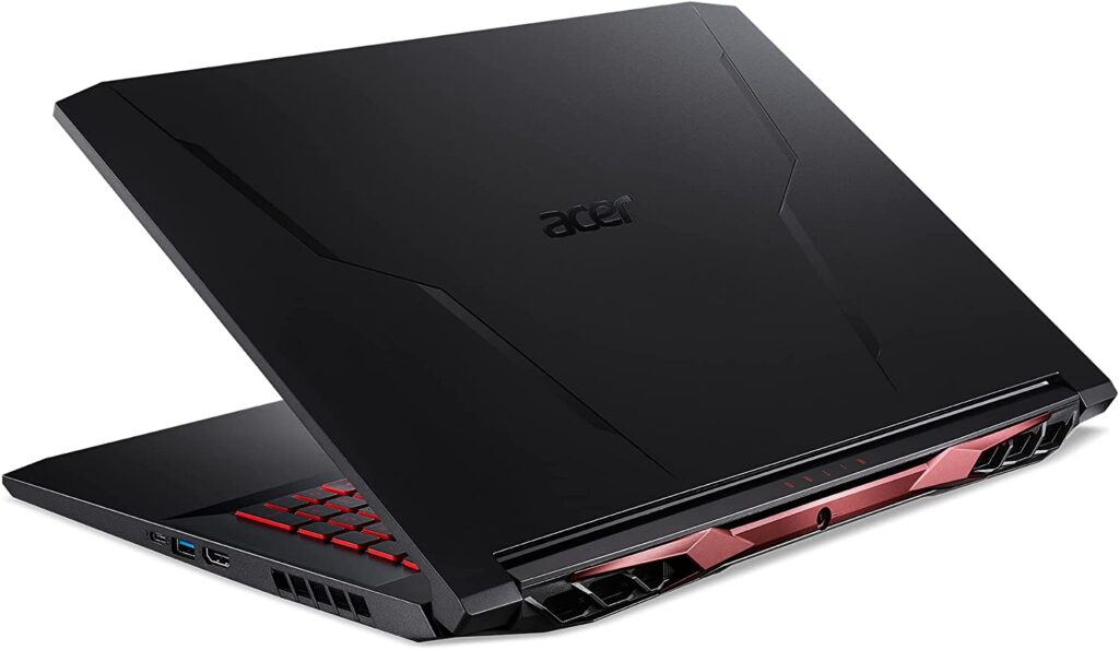 Acer Nitro 5 AN517 41 R7FP back view