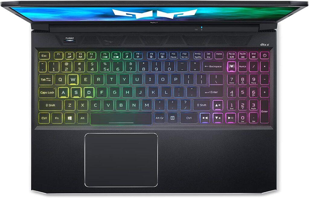 Acer Predator Helios 300 PH315 54 760S keyboard