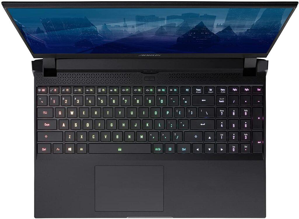 GIGABYTE AORUS 15P XD 73US224SH keyboard