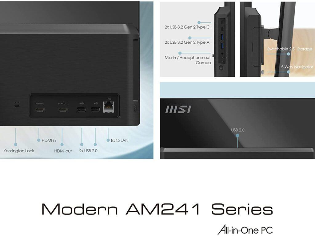 MSI Modern AM241P 11M 290US portd