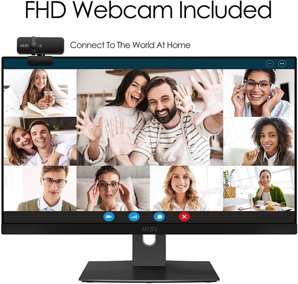 MSI Modern AM241P 11M 290US webcam