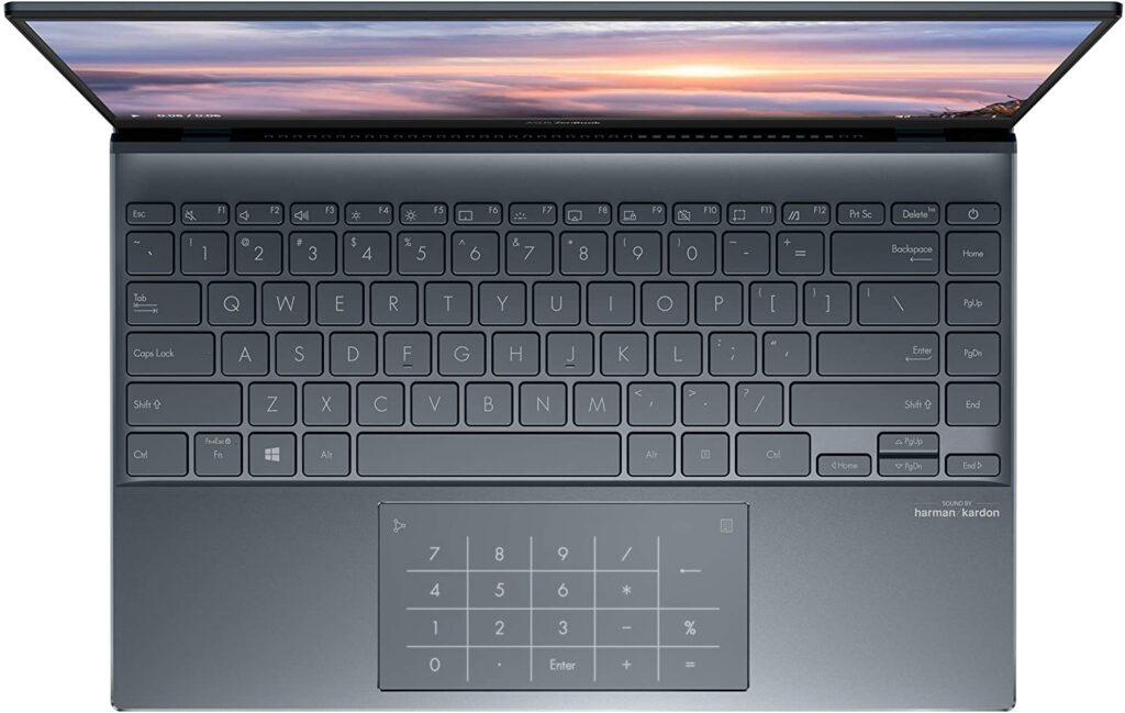 ASUS ZenBook 14 UM425QA XS99 keyboard