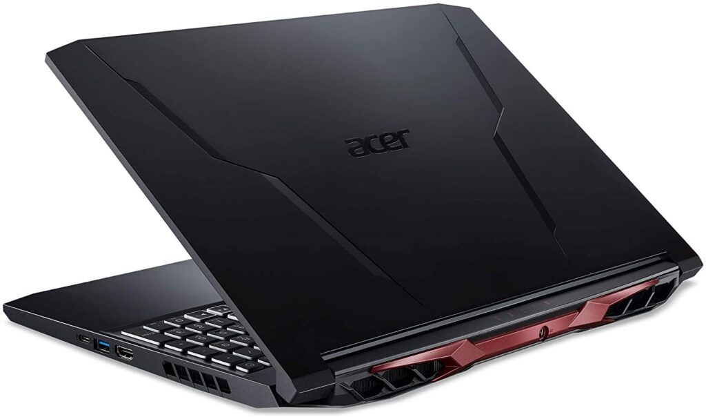 Acer Nitro 5 AN515 45 R92M back view