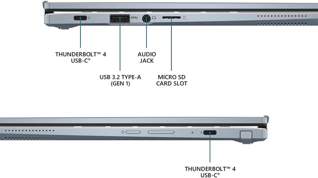 Asus CX5400FMA DN388T S ports