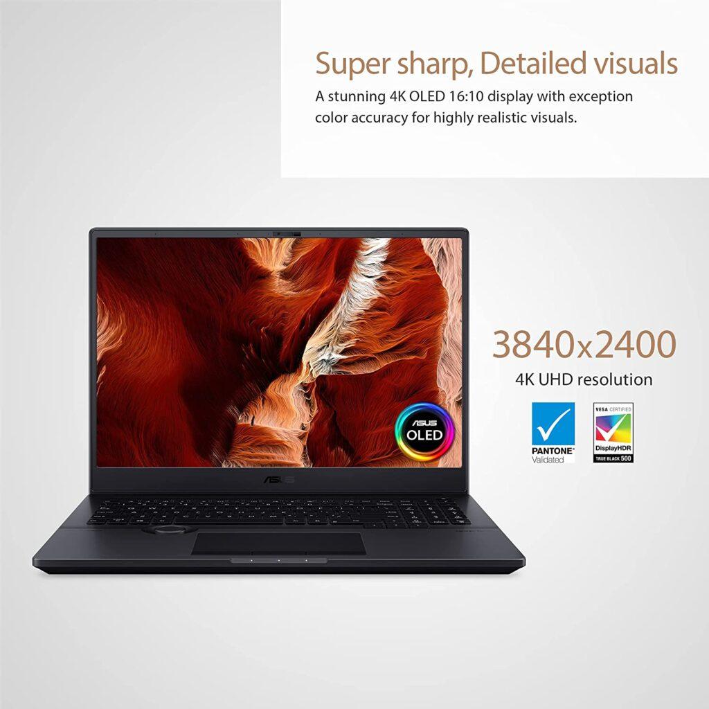 ASUS ProArt StudioBook 16 H5600QM-XB94 Display Specs