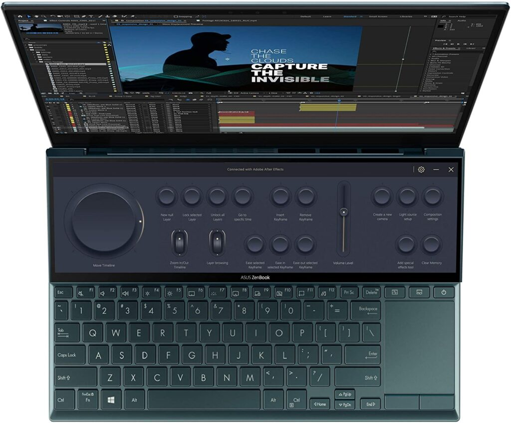 ASUS ZenBook Duo 14 UX482EAR DB71T keyboard