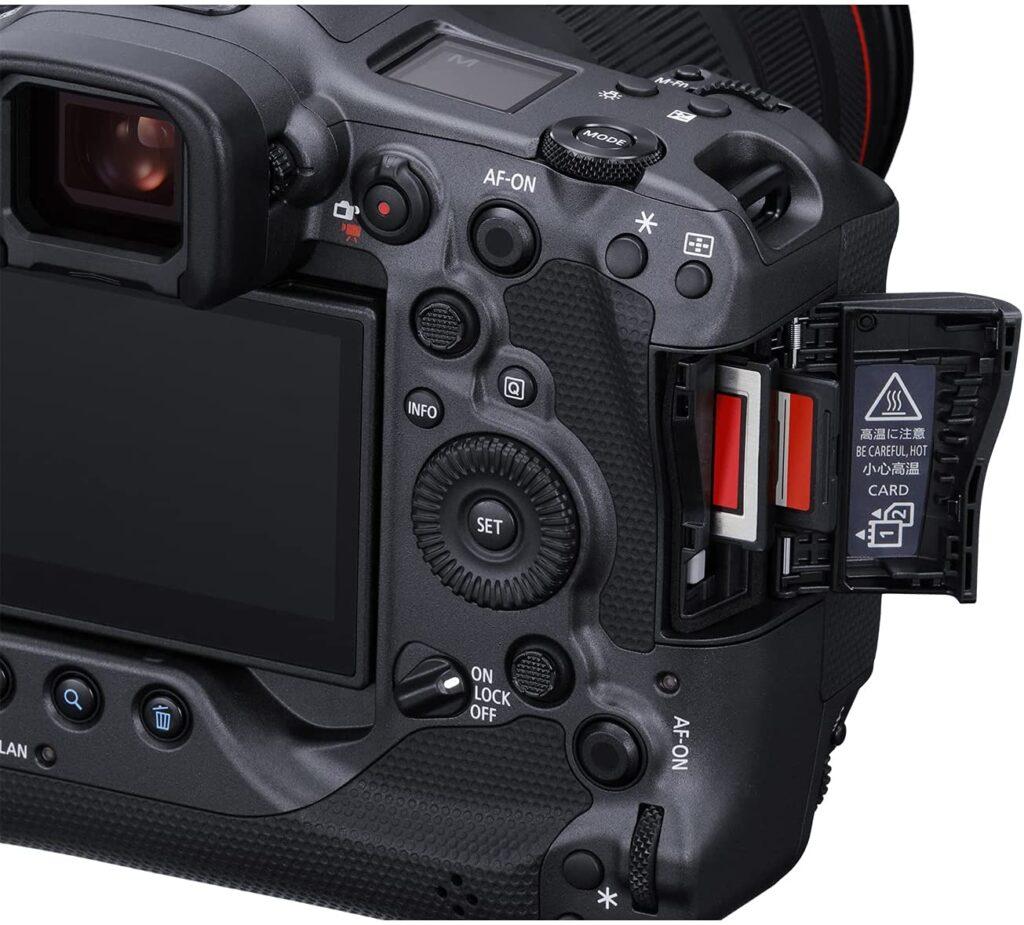 Canon EOS R3 Body features