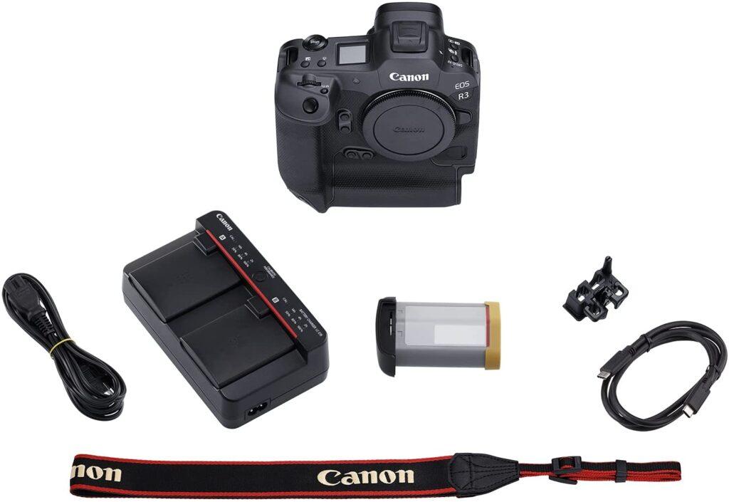 Canon EOS R3 Body in the box