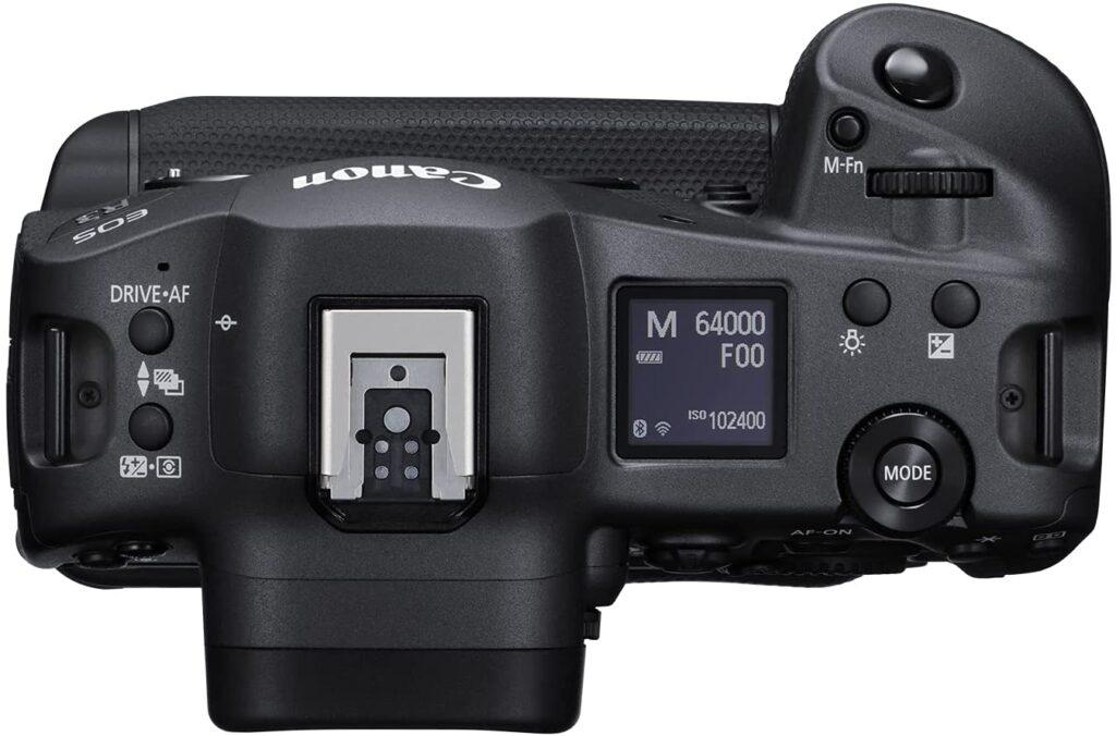 Canon EOS R3 Body top view