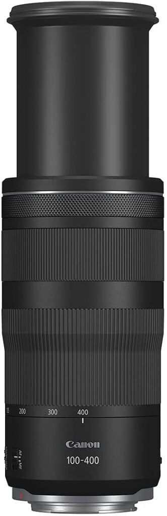 Canon RF100 400mm F5.6 8 IS USM lens