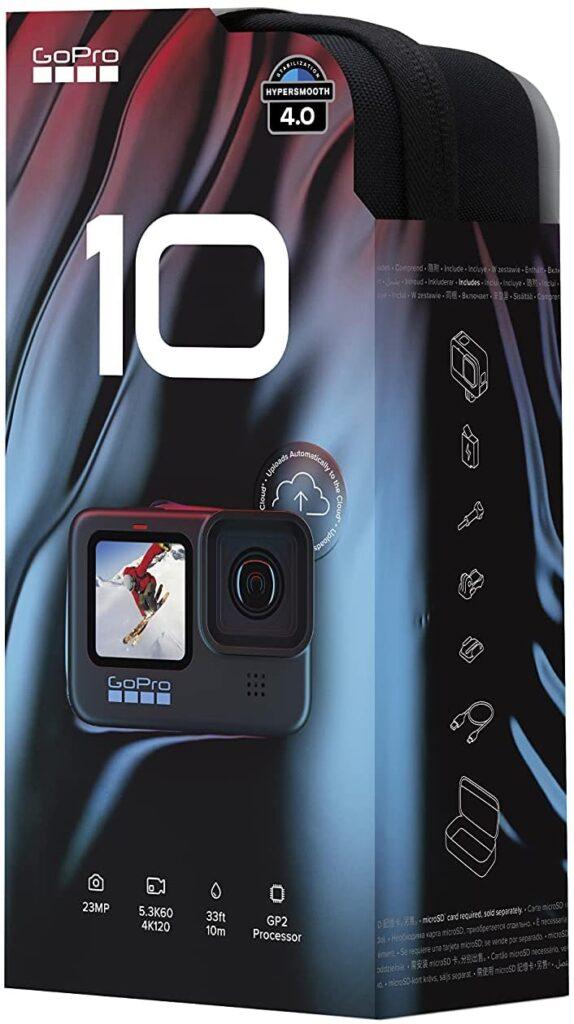 GoPro HERO10 Black box