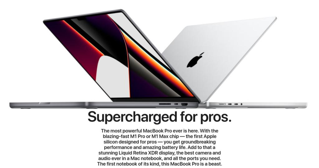 Apple Macbook pro 2021 m1 max