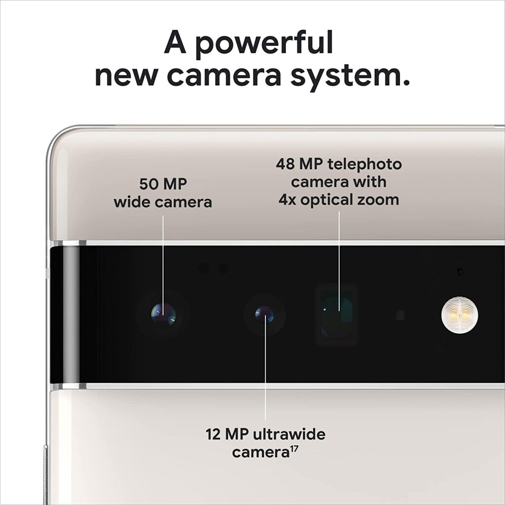 Google Pixel 6 Pro Camera Specs
