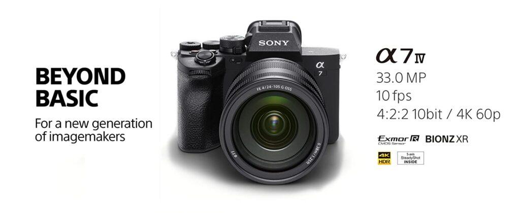 Sony Alpha A7 IV M4 ILCE 7M4
