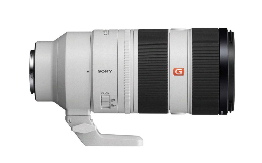 Sony FE 70 200mm F2.8 GM OSS II lens