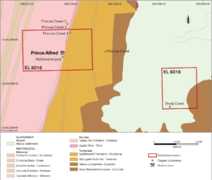 Prince Alfred Project Mineralisation