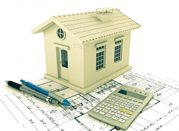Calculating the construction costs of a newly built home
