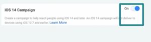 Facebook app install ads iOS14