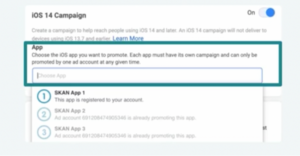 Facebook app install ad campaigns