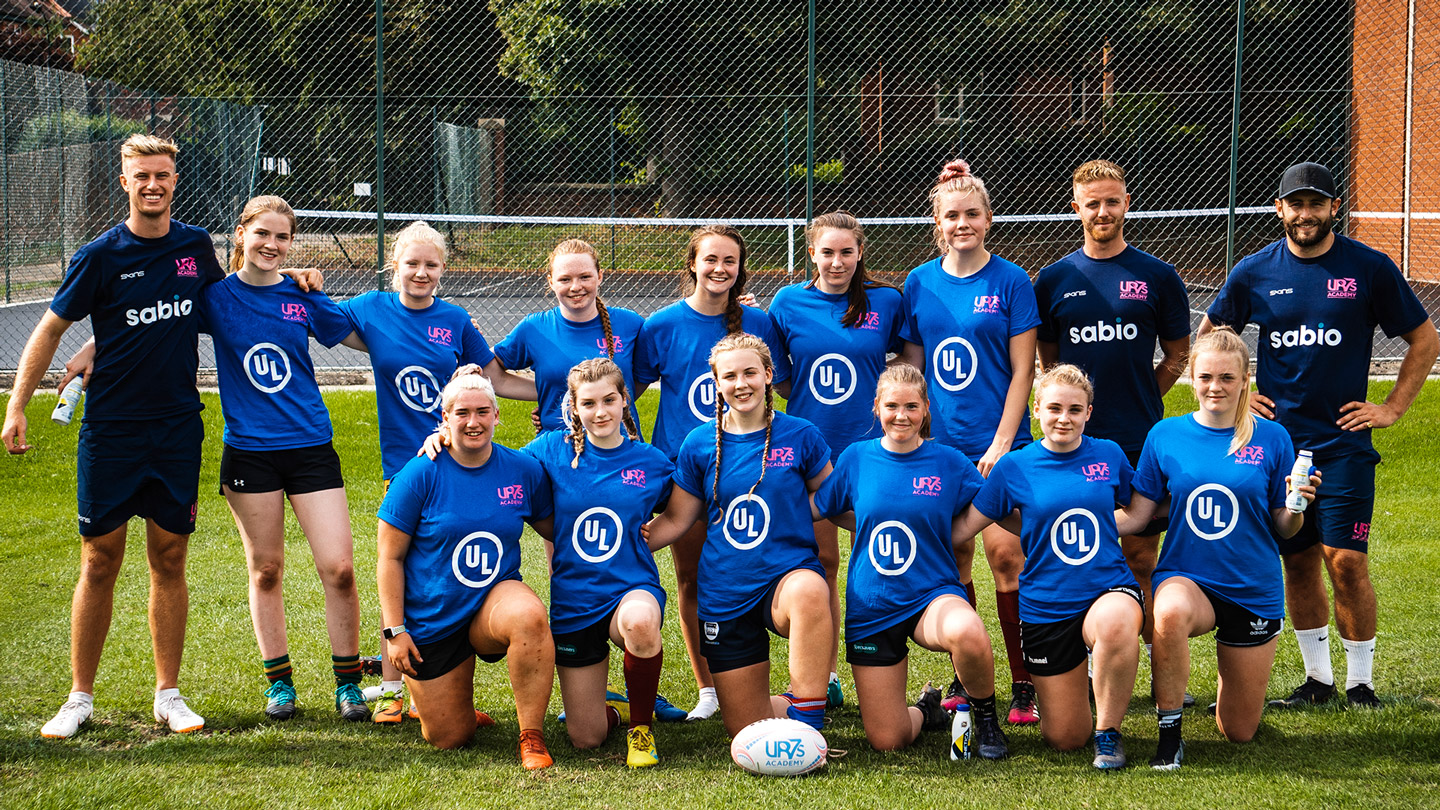 Read more about the article The first of its kind….again. UR7s launches the Girls Academy