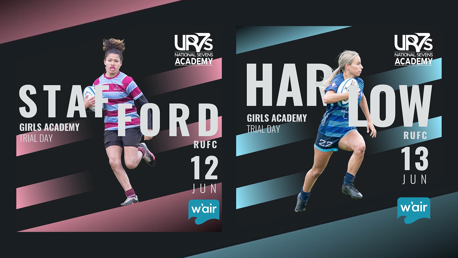 Girls Trial Days in the North and South
