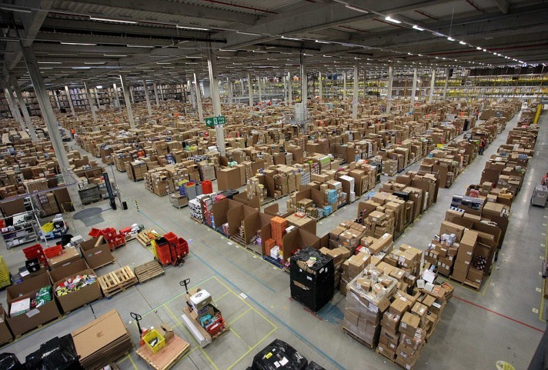 amazon logistics madrid