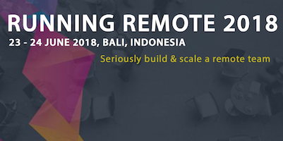 Running Remote Conference 2018