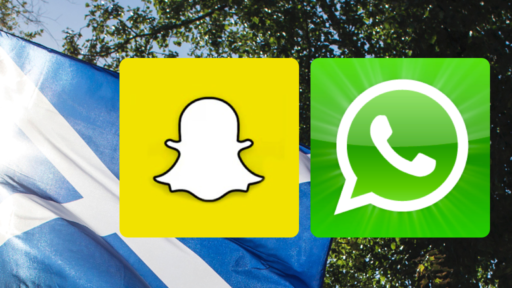 Whatsapp and Snapchat add new features to their services