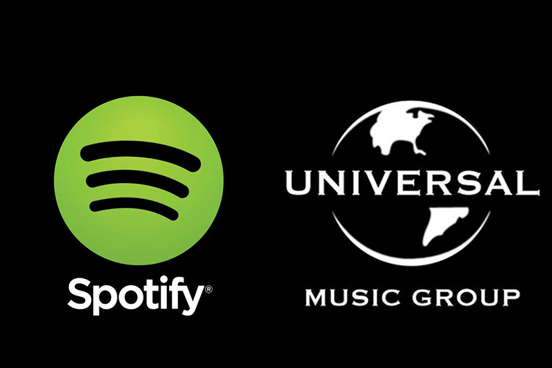 Spotify Universal Music Group