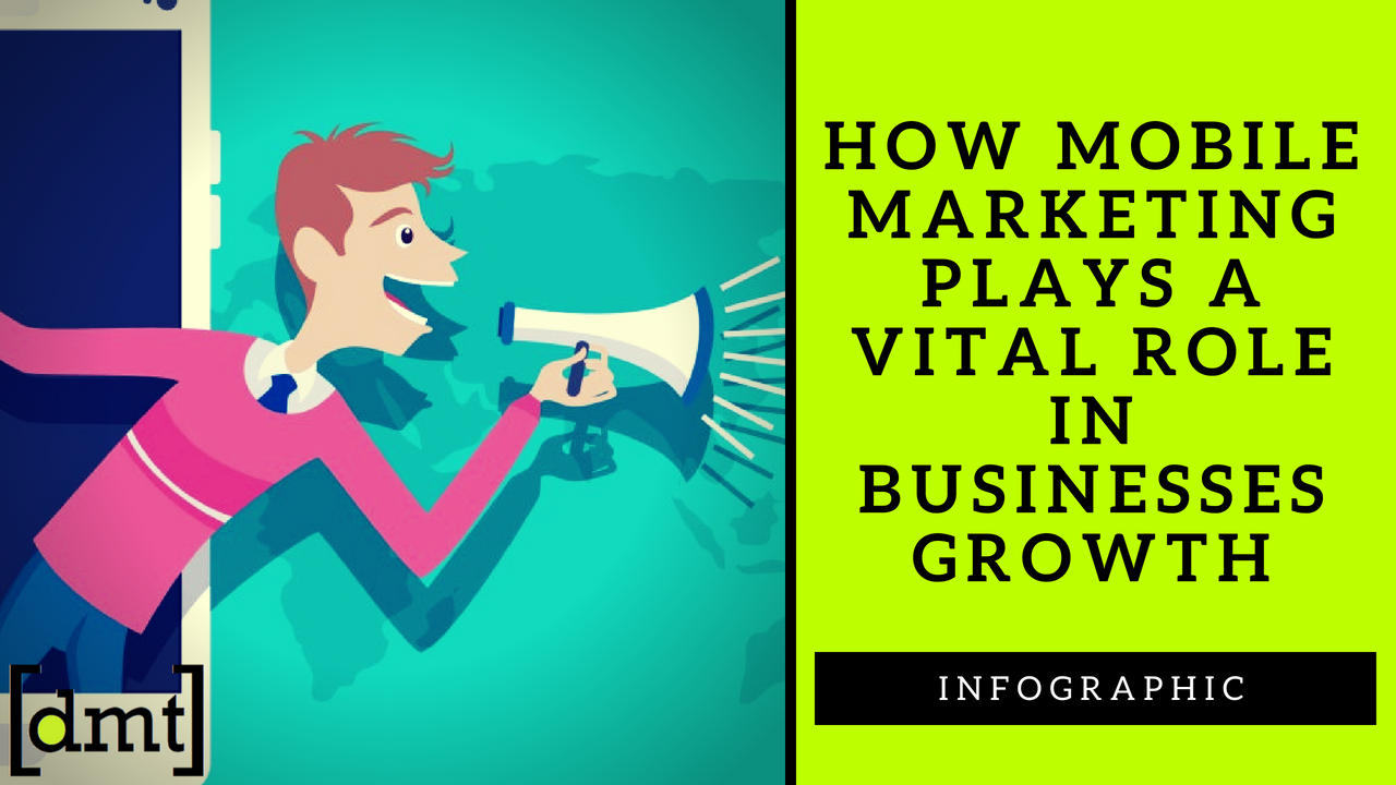 How Mobile Marketing Plays a Vital Role in Businesses Growth Infographic