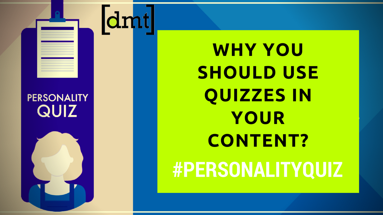 Personality Quiz Why You Should Use Quizzes in Your Content