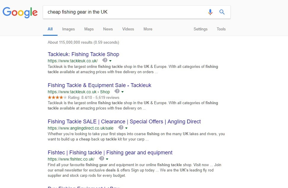 Fishing Gear UK